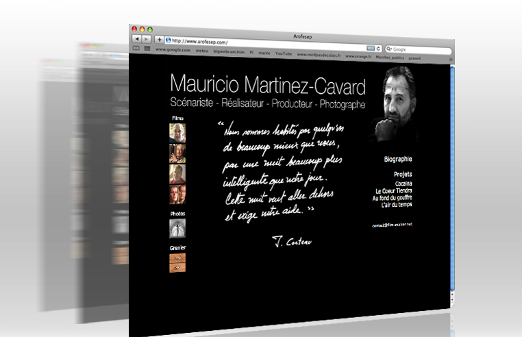SITE MAURICIO MARTINEZ CAVARD