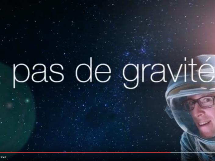 PAS DE GRAVITÉ